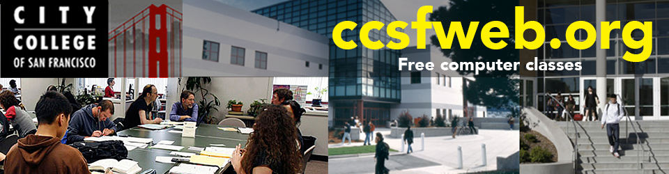 Web Development Ebusiness Certificate Tuition Free Computer Classes City College Of San Francisco